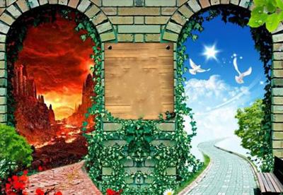 چرا بهشت یک در بیشتر از جهنم دارد؟