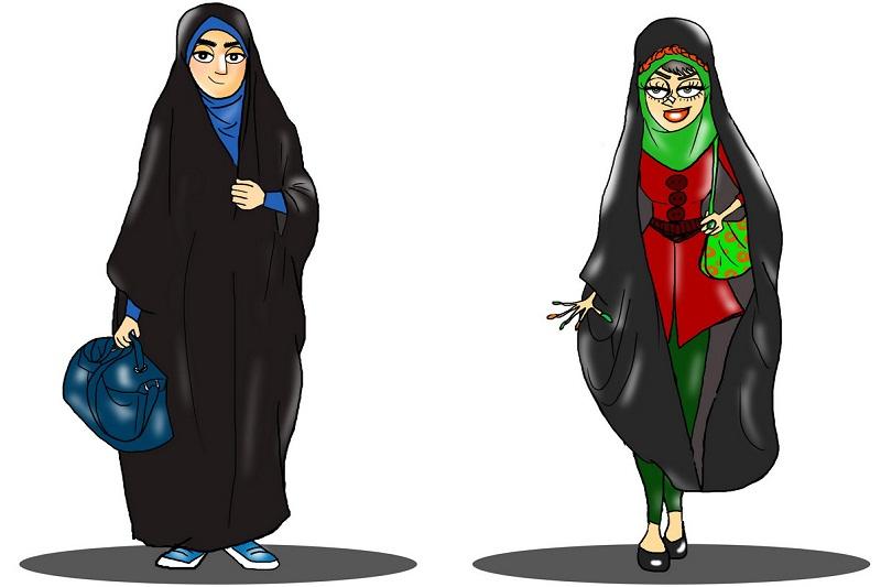 به چه دلیل چادر را به دختران جوان تحمیل میکنند؟